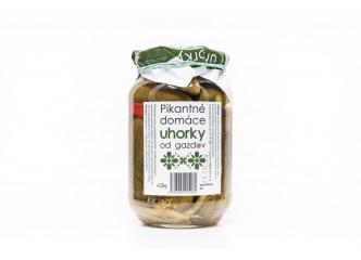 Uhorky s chilli od Gazdov