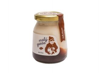 Jogurt bez éčok čokoláda Malý gazda 200 g